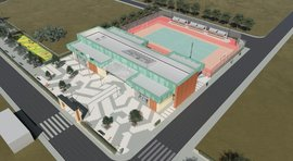 Сonstruction of Sport Complex in Masis is close to completion